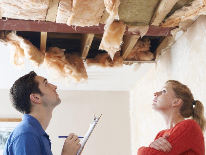 Problemen met het dak oplossen